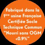 STC Nourri sans OGM <0.9%